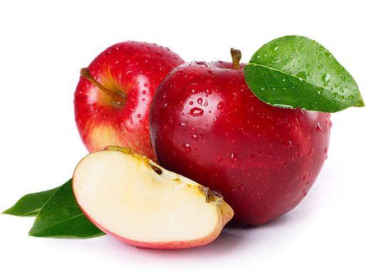 El invierno y las manzanas