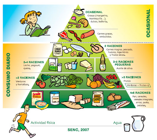 Pirámide nurtricional